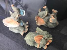 Cute Joblot Elephant Ornament Figurines