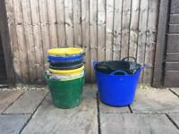 Builder Buckets and Gorilla Buckets