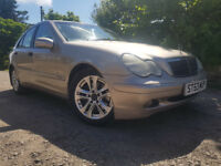 53 Reg Mercedes C270 CDI Diesel,6 Speed Manual,Long MOT,Full Service History