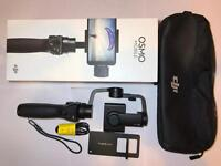 DJI OSMO MOBILE! For your phone 3 axis gimbal stabilization + GoPRO mount