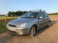 Ford Focus 1.6 2004, Spare key, MOT until October 2018
