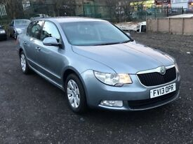 2013 Skoda Superb TDi Cr Dsg 5dr 2.0 DIESEL GREY AUTO**HIGH MILES**ONE OWNER NOT PASSAT NOT A4