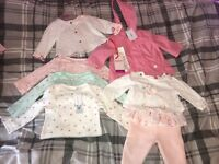 Baby Girls Designer Clothes Bundle 0-3 months