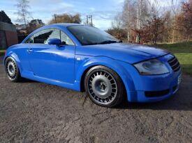 Audi TT nogaro blue 225 quattro