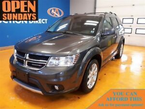 2017 Dodge Journey GT 7 PASSENGER! LEATHER! AWD!