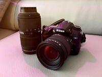 Nikon D7000 + Sigma 18-50 F2.8 + Sigma 50-150 F2.8