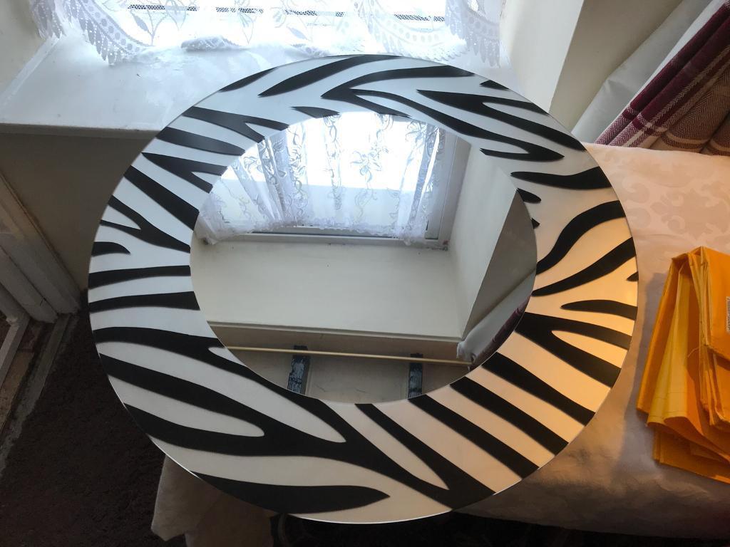 Zebra mirror large from John Lewis 🎄🎄