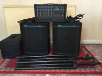 Peavey PA System - Complete