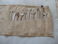 4 pc spanners in canvas roll