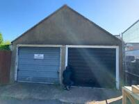 Garage/Workshop/Storage to rent including 2 car space forecourt