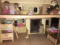 Sylvania Families Doll's House
