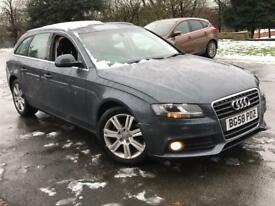 AUDI A4 AVANT SE TDI ESTATE NEW SHAPE 6 SPEED 2008
