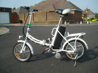 BICYCLE, ELECTRIC, FOLDING.
