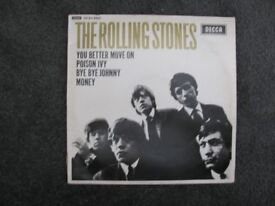 Rolling stones and Beatles vynal LPs