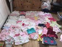 0-3 bundle baby girl over 100 items