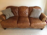 Beautiful DFS sofa and chair for sale!