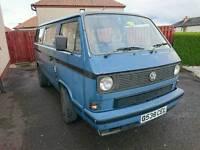 VW Campervan MOT 1st Dec 2017 T25 Transporter