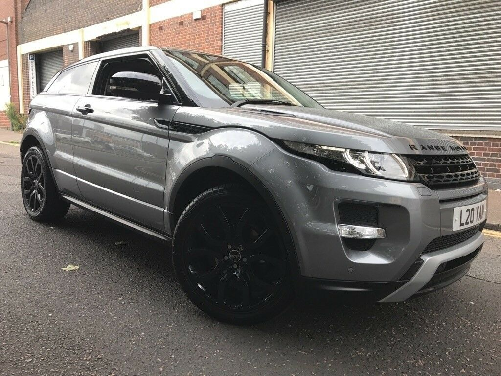land rover range rover evoque 2012 2 0 si4 dynamic coupe 4x4 3 door fully loaded camera. Black Bedroom Furniture Sets. Home Design Ideas