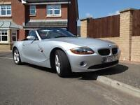 BMW Z4 2.2i SE Roadster 2dr Manual Convertible Silver