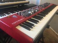 Nord Stage 3 Compact 73 key waterfall action