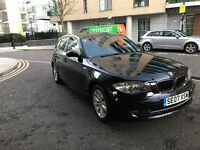Black BMW 1 Series- IMMACULATE CONDITION! LOW MILAGE!