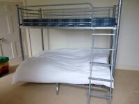 Super condition bunk bed with Double futon