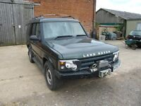 Landrover Discovery 4WD Series II TD5 Commercial with front Winch