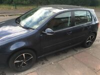 "Vw golf 1.6 ,FSH,2 previous owners ,34500 miles , brand new 16"" alloy wheels"