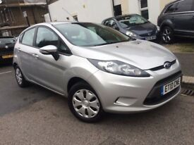 FORD FIESTA 1.6 DIESEL ECONETIC 2010 5 DOOR 1 OWNER FULL HISTORY RECENTLY MAJOR SERVICE