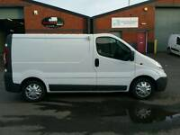 08 REG VAUXHALL VIVARO DIRECT FROM SCOTTISH TRANSFUSION SERVICE £2950 NO V.A.T