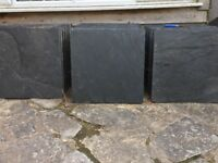 600x600 Slate Tiles - approx 18m2 - offcuts avaliable