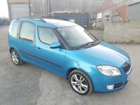 2006 SKODA ROOMSTER 1.9 TDI PD 5 DOOR HATCHBACK BLUE
