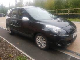 Renault Scenic 2010 1.6 petrol 78k mileage HPI clear years mot