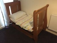 Kids cot and bed good quality