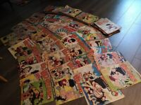 Over 100 Beano comic books from 1998 to 2004