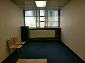 Office and classrooms