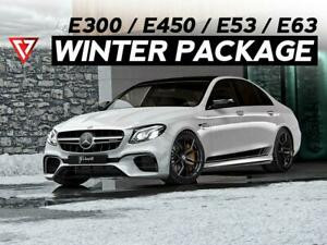 Mercedes-Benz E Class / E350 / E400 / E53 / E63 WINTER TIRE + WHEEL Package 2019 - 2020 - T1 Motorsports Ontario Preview
