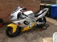 90s blast from the past one of a kind example Yamaha Thunder Cat 600cc practically new.