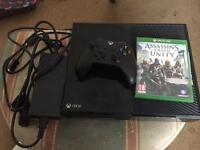 Xbox one all leads one pad plus one game