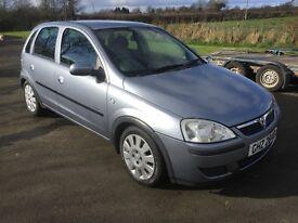 2005 Vauxhall Corsa Active 1.0 12v 60BHP 5dr 1yrs Mot 6mth warranty