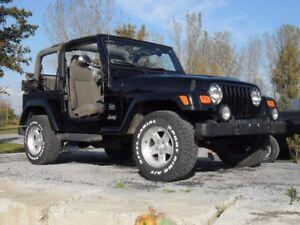 2004 Jeep TJ Sahara