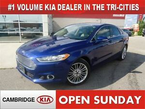 2013 Ford Fusion SE / LEATHER / NAV / BIG WHEELS