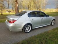 Bmw 5 Series M Sport 520D Silver Almost Mint Condition !