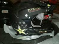 Kids new motocross lid dot approved