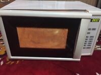 COOKWORKS EM820CFD-PM (800W) MICROWAVE, White