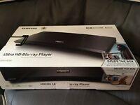 Samsung 4K Ultra HD Blu ray player NEW