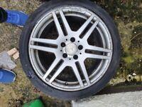 Amg genuine wheels r18