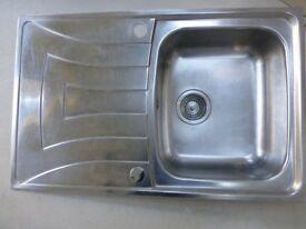 TEKA Stainless Steel Sink (single bowl).