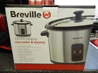 BREVILLE RICE COOKER/STEAMER POT