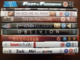 All sorts of DVD'S